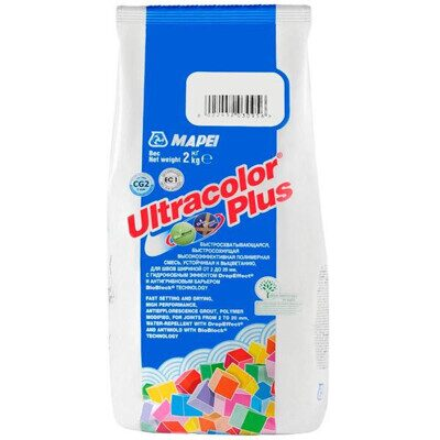Фуга ULTRACOLOR PLUS бежевая 132, 2 кг